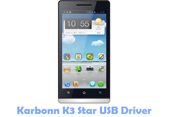 Download Karbonn K3 Star USB Driver