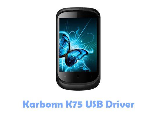 Download Karbonn K75 USB Driver