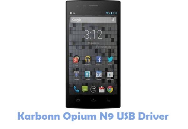 Download Karbonn Opium N9 USB Driver