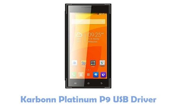 Karbonn Platinum P9 USB Driver