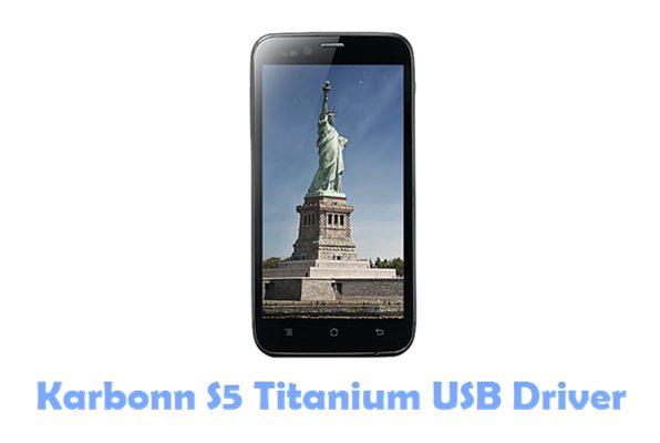 Download Karbonn S5 Titanium USB Driver