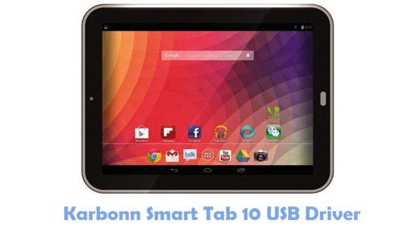 Download Karbonn Smart Tab 10 USB Driver