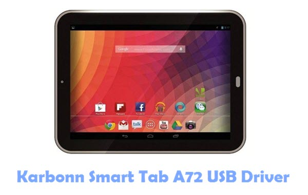 Download Karbonn Smart Tab A72 USB Driver
