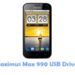 Maximus Max 990 USB Driver