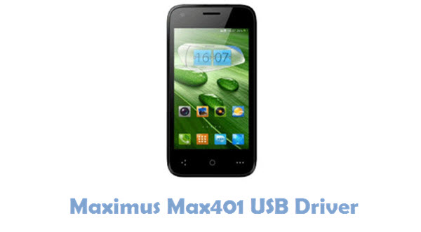 Download Maximus Max401 USB Driver