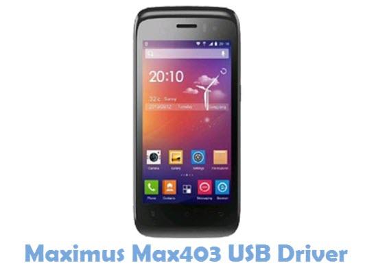 Download Maximus Max403 USB Driver