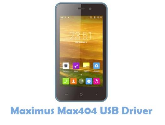 Download Maximus Max404 USB Driver