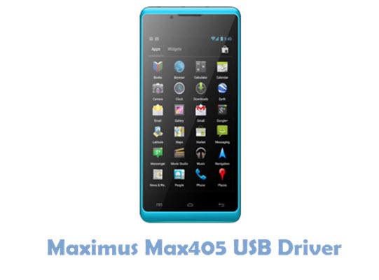 Download Maximus Max405 USB Driver