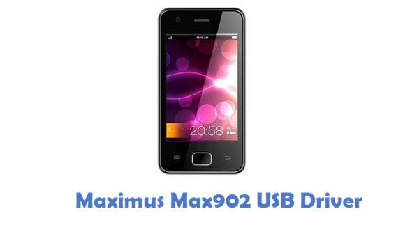 Download Maximus Max902 USB Driver