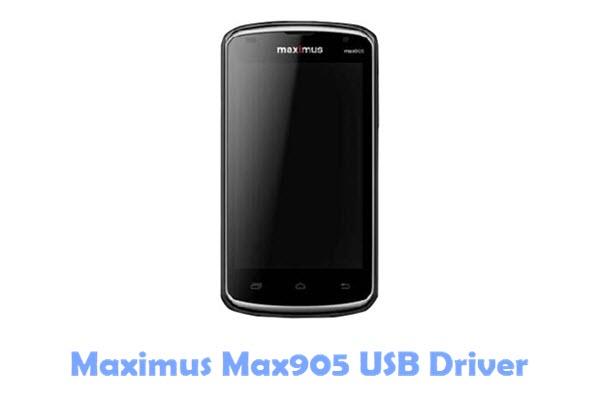 Download Maximus Max905 USB Driver
