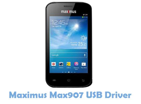 Download Maximus Max907 USB Driver