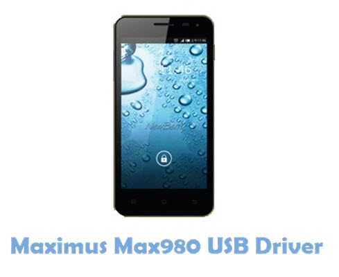 Download Maximus Max980 USB Driver