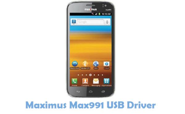 Download Maximus Max991 USB Driver