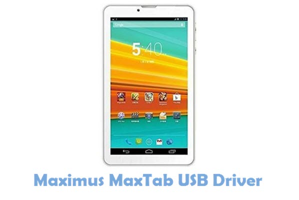 Download Maximus MaxTab USB Driver