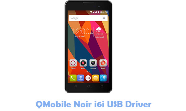 Download QMobile Noir i6i USB Driver