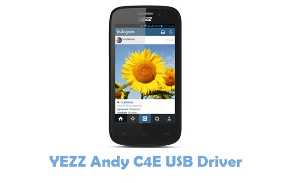 Download YEZZ Andy C4E USB Driver