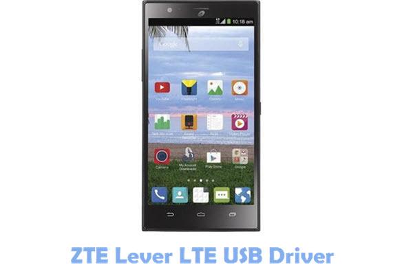 Download ZTE Lever LTE USB Driver