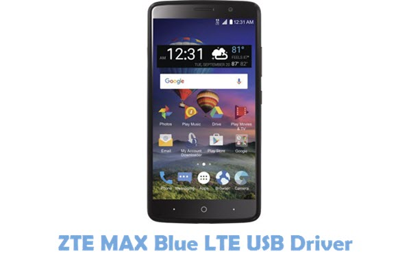 Download ZTE MAX Blue LTE USB Driver