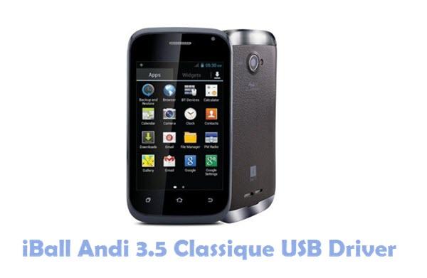 Download iBall Andi 3.5 Classique USB Driver