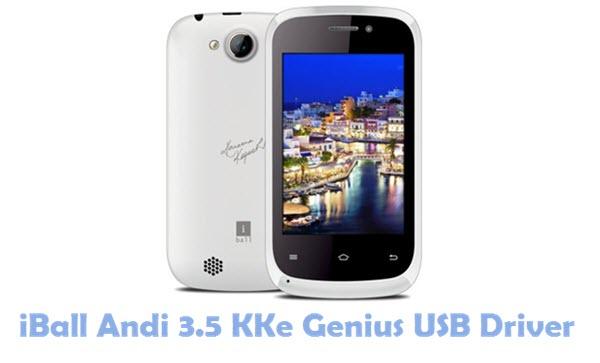 Download iBall Andi 3.5 KKe Genius USB Driver