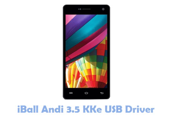 Download iBall Andi 3.5 KKe USB Driver