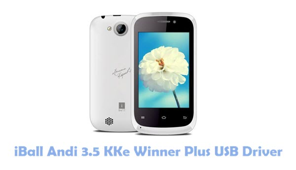 Download iBall Andi 3.5 KKe Winner Plus USB Driver