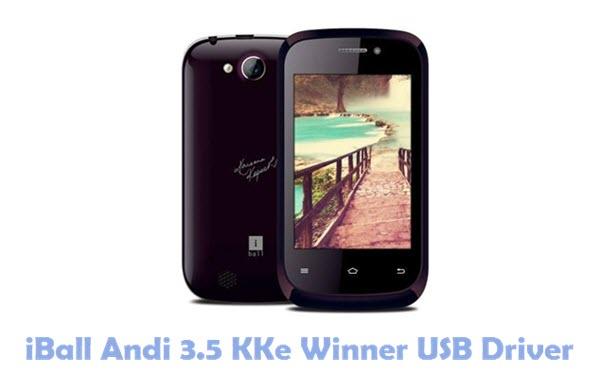 Download iBall Andi 3.5 KKe Winner USB Driver