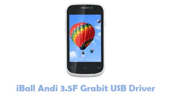 Download iBall Andi 3.5F Grabit USB Driver