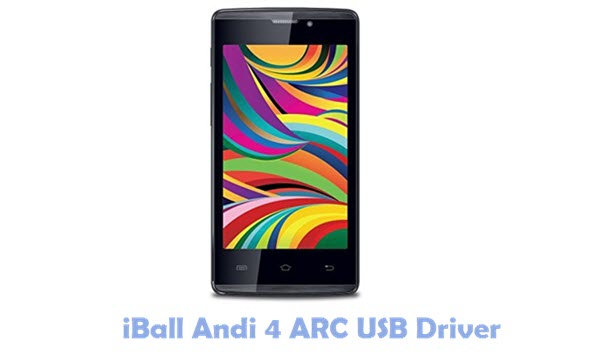 Download iBall Andi 4 ARC USB Driver