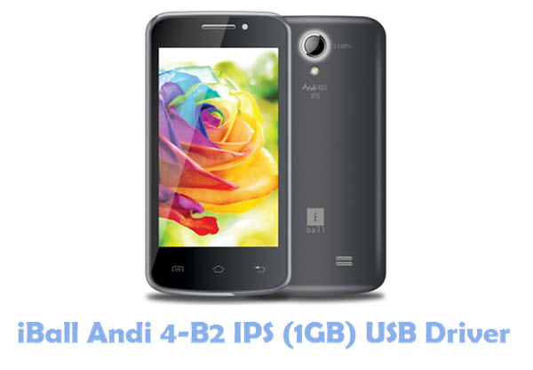 Download iBall Andi 4-B2 IPS (1GB) USB Driver
