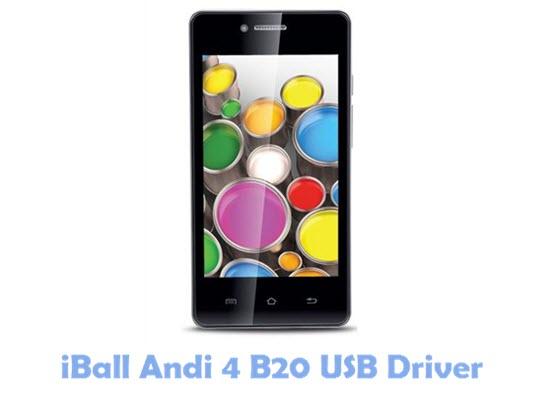 Download iBall Andi 4 B20 USB Driver