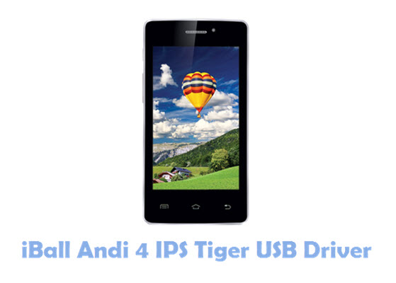 Download iBall Andi 4 IPS Tiger USB Driver