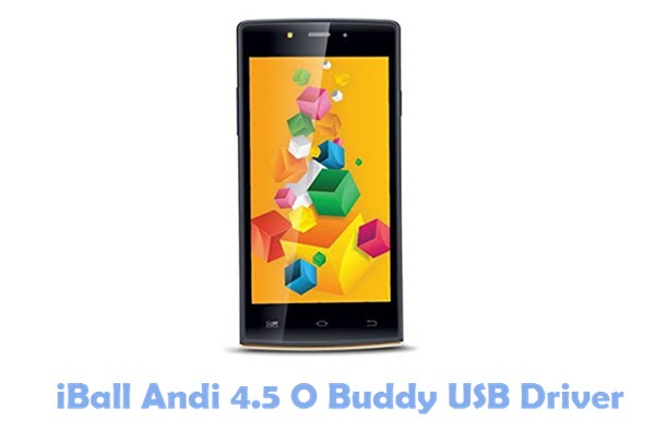 Download iBall Andi 4.5 O Buddy USB Driver
