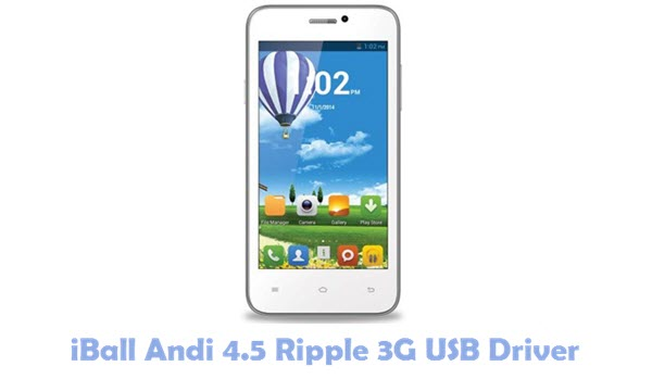 Download iBall Andi 4.5 Ripple 3G USB Driver