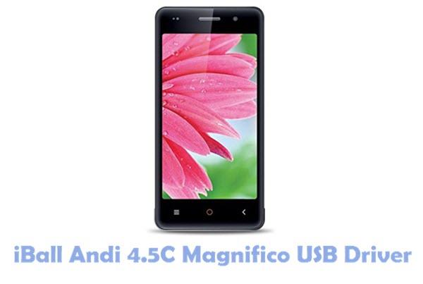 Download iBall Andi 4.5C Magnifico USB Driver