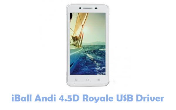 Download iBall Andi 4.5D Royale USB Driver