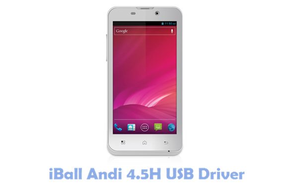 Download iBall Andi 4.5H USB Driver