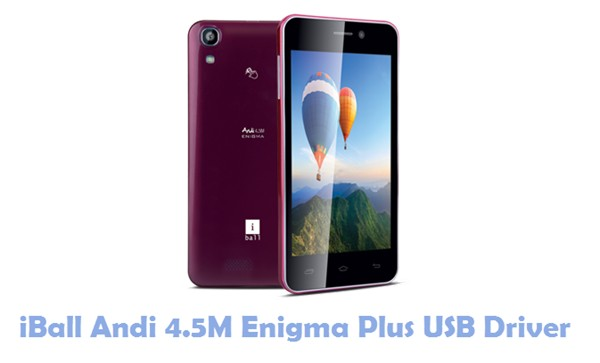Download iBall Andi 4.5M Enigma Plus USB Driver