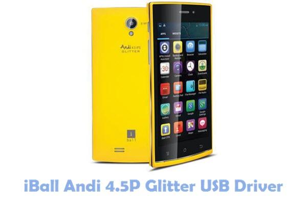 Download iBall Andi 4.5P Glitter USB Driver