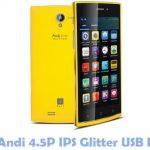 iBall Andi 4.5P IPS Glitter USB Driver
