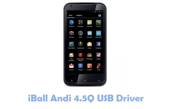 Download iBall Andi 4.5Q USB Driver