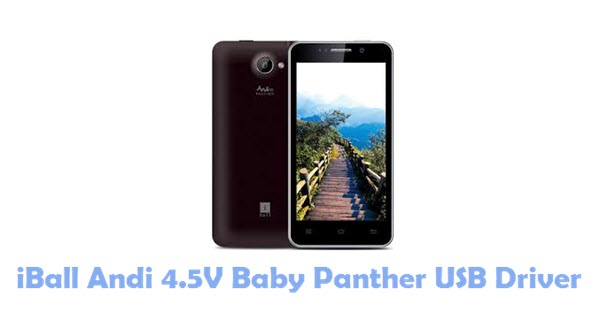 Download iBall Andi 4.5V Baby Panther USB Driver