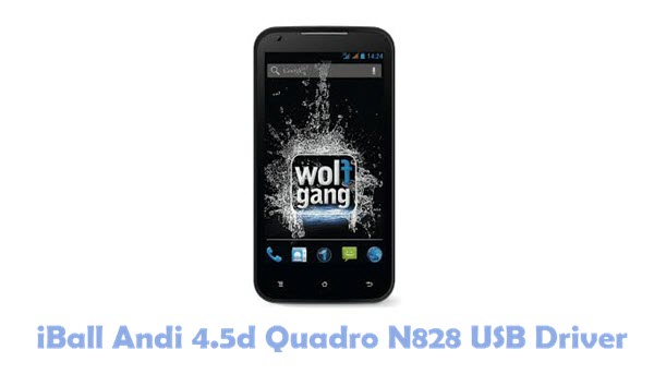 Download iBall Andi 4.5d Quadro N828 USB Driver