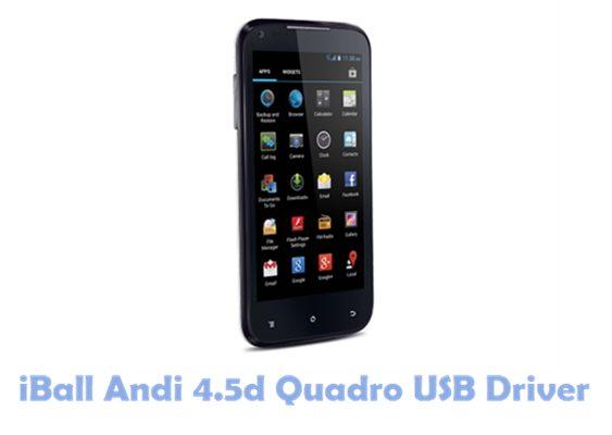 Download iBall Andi 4.5d Quadro USB Driver
