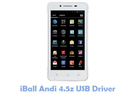 Download iBall Andi 4.5z USB Driver