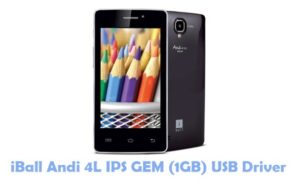 Download iBall Andi 4L IPS GEM (1GB) USB Driver