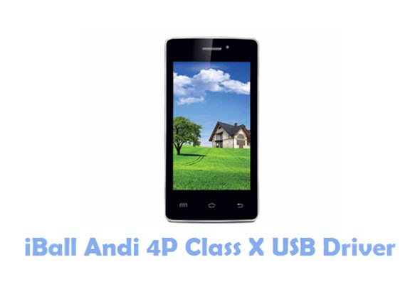 Download iBall Andi 4P Class X USB Driver