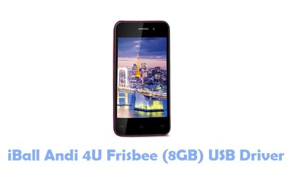 Download iBall Andi 4U Frisbee (8GB) USB Driver
