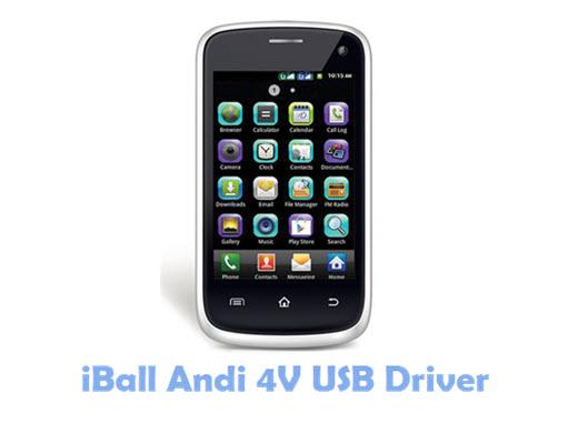 Download iBall Andi 4V USB Driver