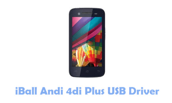 Download iBall Andi 4di Plus USB Driver